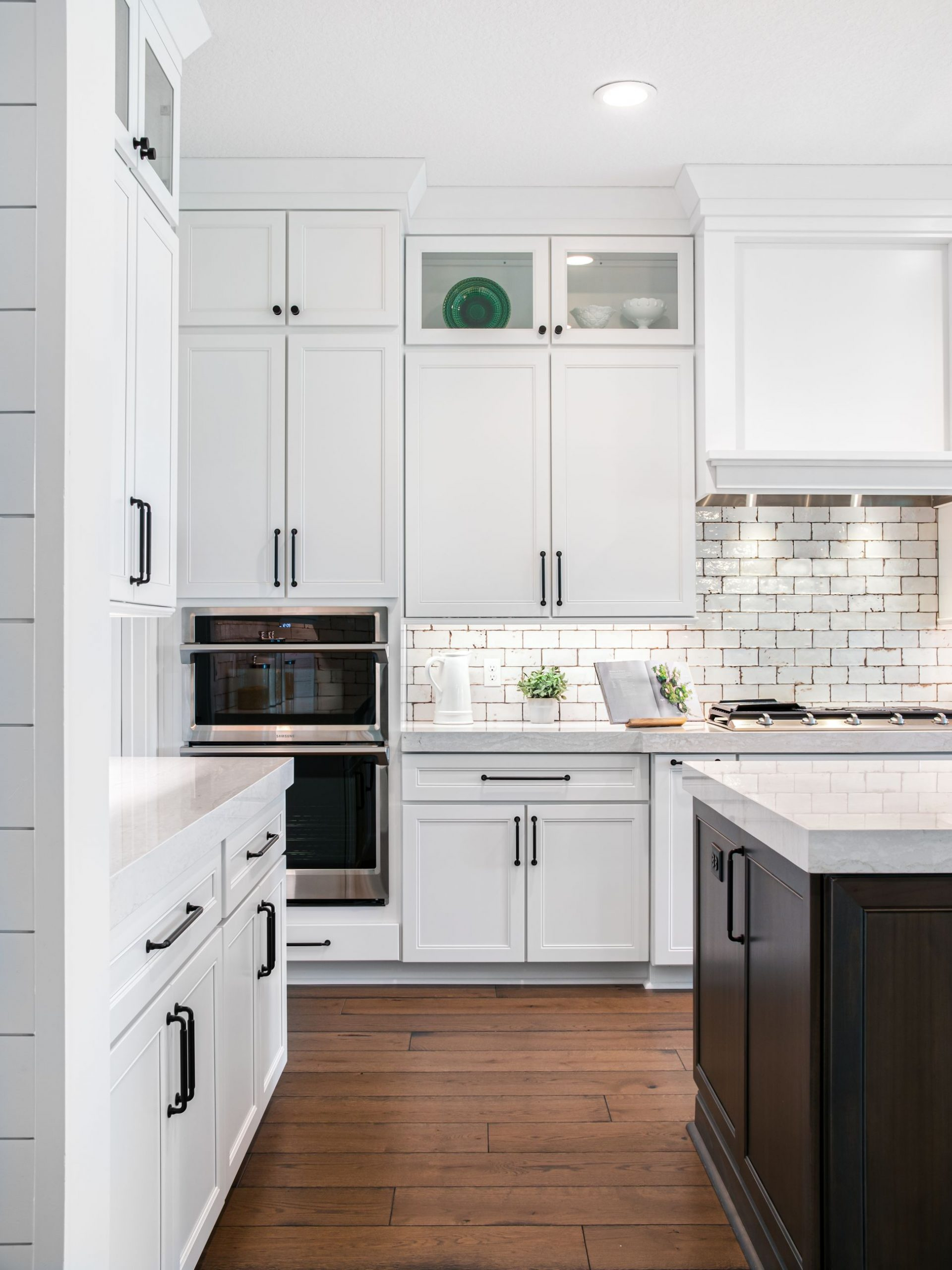 Aspect Landes Maple Tundra Kitchen Cabinets